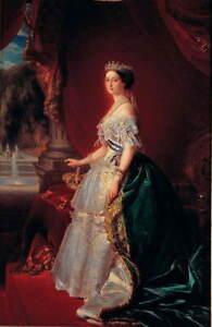 Franz Xaver Winterhalter Empress Giclee Art Paper Print Poster Reproduction