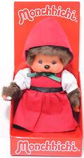 Monchhichi 220434 Red Hood Girl (Rotkäppchen), 20 cm groß, Sekiguchi