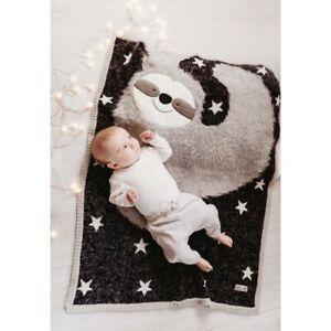 Bizzi Growin Baby Blanket -  Sidney Sloth Blanket