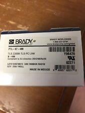 BRADY TLS2200 / TLS PC LINK PTL-97-488 Polyester matte White Labels y96476 b-488