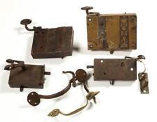 Assorted Metal Door And Lock Articles, Lot Of Six Lot 1473