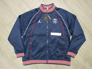 NWT Jordan x PARIS SAINT GERMAIN Club Anthem Jacket Sz Large - DB6485 410 - PSG