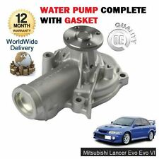 FOR MITSUBISHI LANCER EVO EVOLUTION 6 VI 2.0 TURBO 1999-11/2000 WATER PUMP