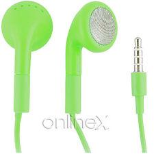 Auricular con micrófono Universal para Samsung Verde a1704