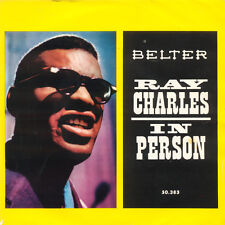 RAY CHARLES In Person Spain Press Belter 50.383 EP