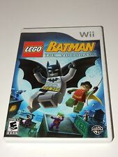 LEGO Batman: The Videogame (Wii, 2008) **COMPLETE**