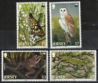 Great Britain-Jersey Stamp - World Wildlife Fund Stamp - NH