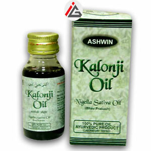 Kalonji Oil (Nigella Sativa Oil) 100% Pure - 100 ml