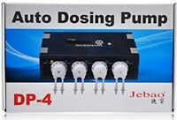 Jebao Auto Dosing Pump DP-4 Aquarium Reef Marine Doser 4 Channel UK Seller