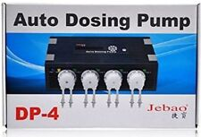 Jebao Auto Dosing Pump DP-4 Reef Aquarium Reef 4 Channel Doser Fast Dispatch