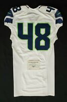 Seattle Seahawks Blank #48 Team Issued Road Jersey with COA - SA 09295