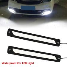 Universal 2x DRL LED Car Daytime Running Lights Driving Bulbs Daylight Fog Light