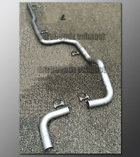 "88-91 Honda Civic Mandrel Exhaust by TruBendz - 2.5"" Aluminized Steel Tubing"