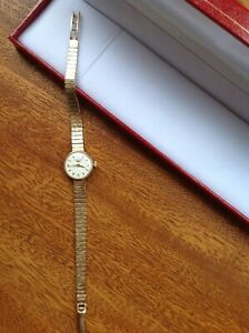 Vintage Ladies 9ct Gold LONGINES Cocktail Watch  - Working Order - Fabulous! ❤