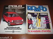 RIVISTA ROMBO 1984/10=VIRGINIO FERRARI=SPECIALE MODELLISMO=LONG-EZ=SUZUKI 1100EF