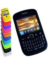 Case Cover for Blackberry Curve 8520 8530 9300 9330 3G Black Blue Red and more