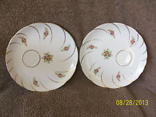 Symco Offset Floral Luncheon Plates Made in Japan