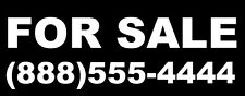 """"""" FOR SALE """" Vinyl Graphic Graphics Decal Sticker Car Window Truck SUV sign Sign"""