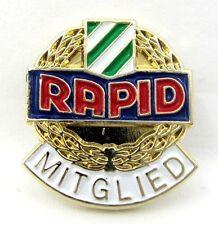 FC Rapid Wien Austria Member Pin Badge Mitglied  Anstecknadel