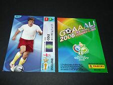 JOE COLE ENGLAND PANINI CARD FOOTBALL GERMANY 2006 WM FIFA WORLD CUP
