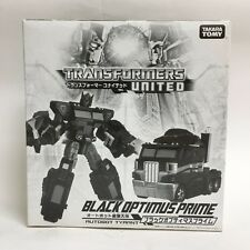 Transformers United UN-EX Black Optimus Prime