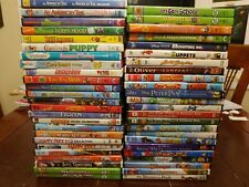Batch / Lot Of Various Used Children's Themed DVDs. You Pick & Choose The DVD.