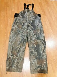 NWT MENS REALTREE XTRAGREEN INSULATED BIB OVERALLS #ZB522AFX9 SIZES X-LARGE OR X