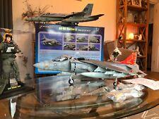 Elite Force BBi 1:18 Harrier 11 Jump Jet US Marines V/STOL Merit 21st Century
