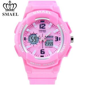 SMAEL Women Digital Watches Fashion Student Girls Sport Watch Quartz Wristwatch