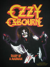 Vintage 90s OZZY OSBOURNE CONCERT T SHIRT Diary of a Madman Limited 80s L/XL
