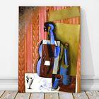 "JUAN GRIS Art - Violin CANVAS PRINT 12x8"" - Cubist, Cubism, Music"