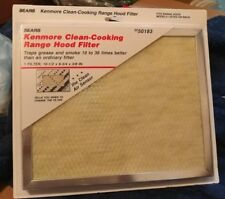 Kenmore Clean-Cooking Range Hood Filter 50183 10 1/2