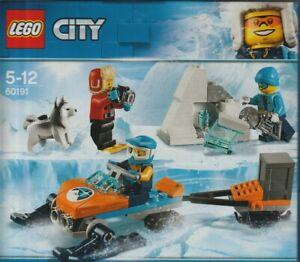 LEGO CITY 60191 TEAM DI ESPLORAZIONE ARTICO - ARCTIC EXPLORATION TEAM New Sealed