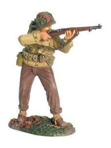 W Britain 17904 World War II US Infantry Standing Firing 1/30 Scale Toy Soldier
