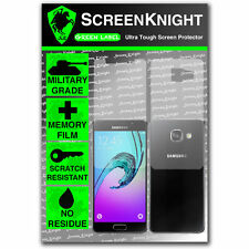 ScreenKnight Samsung Galaxy A3 (2016) FULLBODY SCREEN PROTECTOR invisible shield