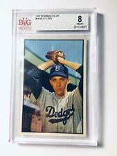 1953 Bowman #14 Billy Loes BVG 8 NM-MT Brooklyn Dodgers PSA FRESHLY GRADED