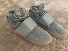 Adidas Grey Suede High Top Mens Sneakers  Size 7 US Or 40eu Tubular