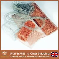 Knitted Mesh Rodent Pest Control Vermin Proof - 1 & 10 Metre Strips - UK Made