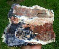 4.07 LB TIFFANY STONE ROUGH, BERTRANDITE, OPALIZED FLUORITE from Utah (Q9)