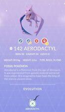 Aerodactyl #142 Pokemon Go ✔ Shiny Chance ✔ Quest ✔ 100% Quick & Safe