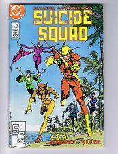 Suicide Squad 11 (Sharp!) Enchantress! Amanda Waller! DC Comics; 1988 (c#04164)