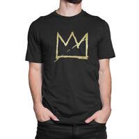 Crown Jean Michel Basquiat Men's T-Shirt S to 3XL