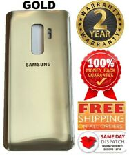For Samsung Galaxy S9 Plus Replacement Battery Cover Glass Back Door  (GOLD)