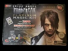 Criss Angel Mindfreak Platinum Magic Kit | Complete With Instructional Disk