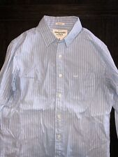 Mens Abercrombie And Fitch Muscle Fit Button Shirt Small