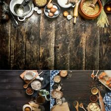 Photography Backdrop Cloth Wooden Floor Texture Food Shooting Display Background