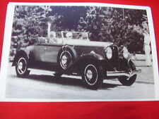 1931  STUDEBAKER PRESIDENT  8 ROADSTER  11 X 17  PHOTO   PICTURE