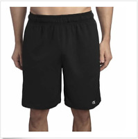 Champion Men's Active  Performance Short Double Dry, Black, Size XXL, NWT
