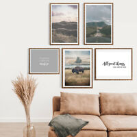 Gallery Wall Home Prints A4,Wilderness/Wild Country, 1-5 PICTURES-NO FRAME