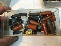 Large Lot Misc Vintage Capacitors Tube Radios Amps Transistors Lot